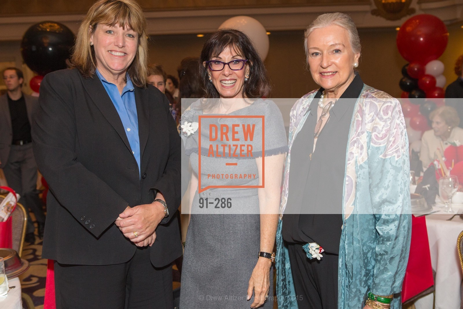 Vicki Hennessy, Jill Barnett, Jerry Divetthio, CCSF Basic Skills Luncheon, Fairmont Hotel, Grand Ballroom, September 15th, 2015,Drew Altizer, Drew Altizer Photography, full-service agency, private events, San Francisco photographer, photographer california