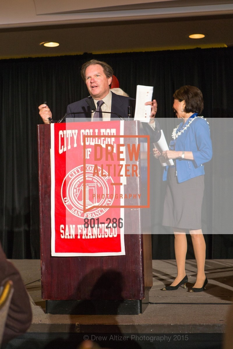 George Rush, Jan Yanehiro, CCSF Basic Skills Luncheon, Fairmont Hotel, Grand Ballroom, September 15th, 2015,Drew Altizer, Drew Altizer Photography, full-service agency, private events, San Francisco photographer, photographer california