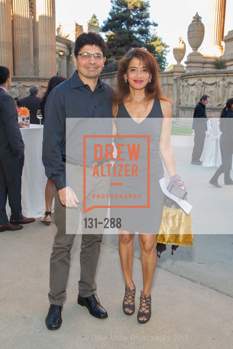 Abhay Parekh, Kay Parekh, Party for the Parks 2015, Palace of Fine Arts. 3301 Lyon St, September 19th, 2015,Drew Altizer, Drew Altizer Photography, full-service agency, private events, San Francisco photographer, photographer california