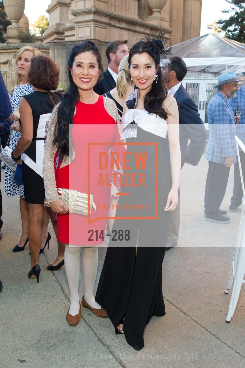 Vena Li, Selena Du, Party for the Parks 2015, Palace of Fine Arts. 3301 Lyon St, September 19th, 2015,Drew Altizer, Drew Altizer Photography, full-service agency, private events, San Francisco photographer, photographer california
