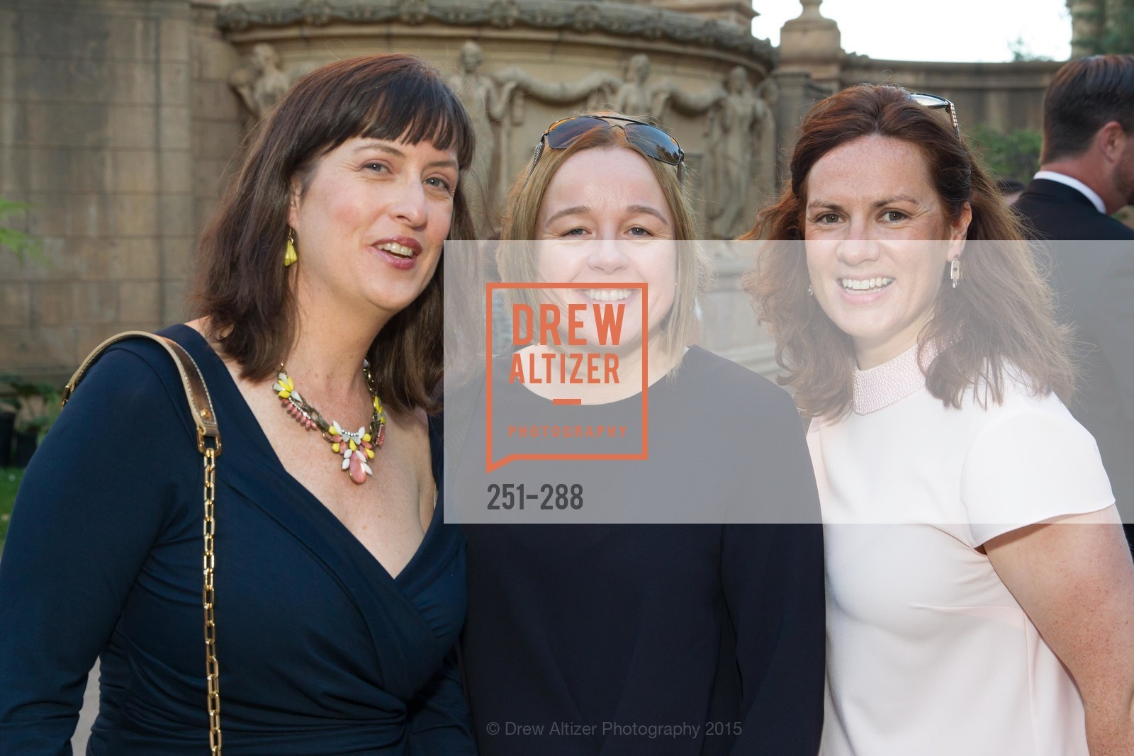 Louise Conner, Susan McNulty, Claire Carroll, Party for the Parks 2015, Palace of Fine Arts. 3301 Lyon St, September 19th, 2015,Drew Altizer, Drew Altizer Photography, full-service agency, private events, San Francisco photographer, photographer california
