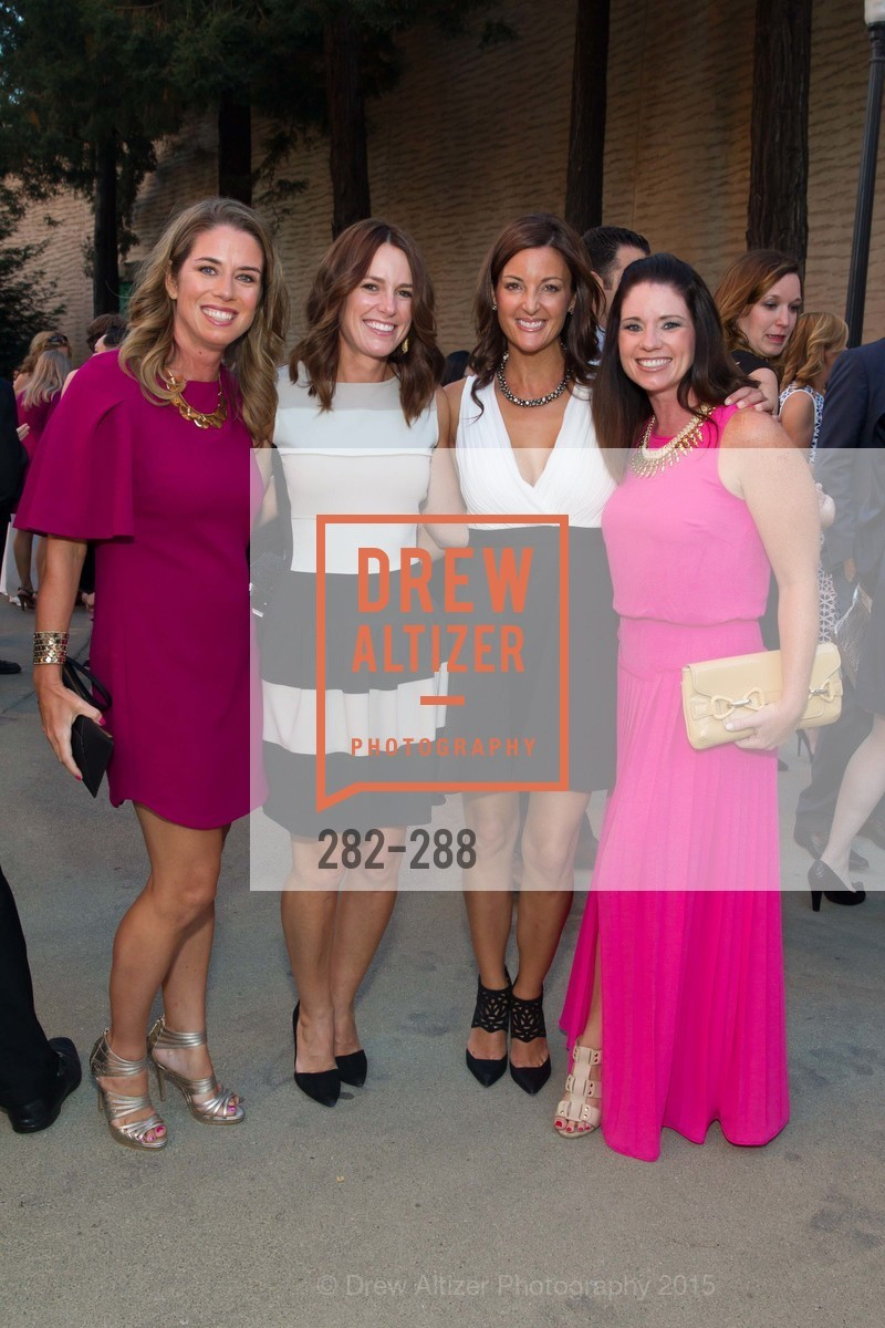 Liz Farrell, Anne Duffy, Andrea Cohen, Julie Dunn, Party for the Parks 2015, Palace of Fine Arts. 3301 Lyon St, September 19th, 2015