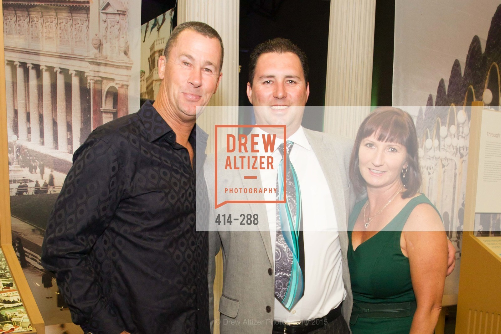 Kevin Conger, David Yasso, Denise Yasso, Party for the Parks 2015, Palace of Fine Arts. 3301 Lyon St, September 19th, 2015,Drew Altizer, Drew Altizer Photography, full-service agency, private events, San Francisco photographer, photographer california