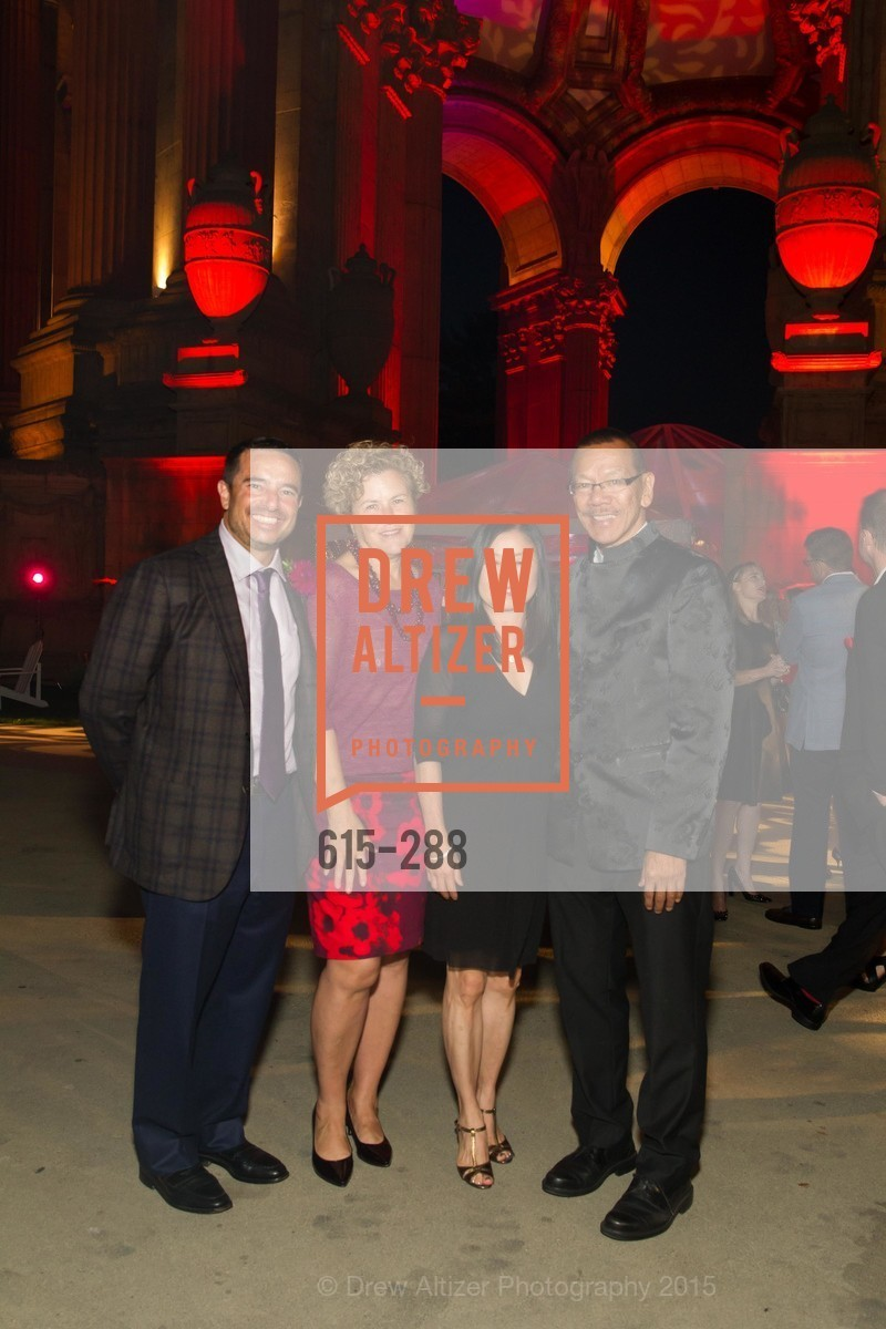 Phil Ginsburg, Julie Christensen, Kathy Chung Ye, Norman Ye, Party for the Parks 2015, Palace of Fine Arts. 3301 Lyon St, September 19th, 2015,Drew Altizer, Drew Altizer Photography, full-service agency, private events, San Francisco photographer, photographer california