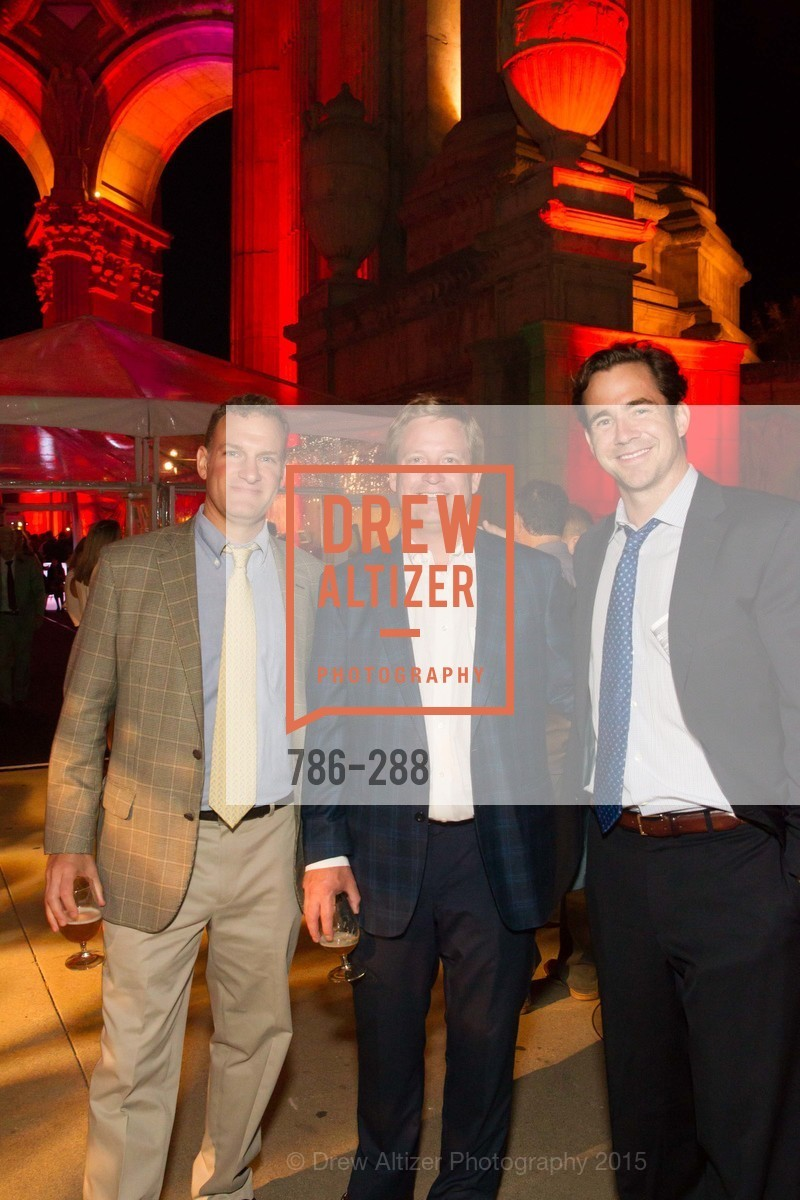 Sam Kingsland, Brooks Doggett, Tim O'Donovan, Party for the Parks 2015, Palace of Fine Arts. 3301 Lyon St, September 19th, 2015,Drew Altizer, Drew Altizer Photography, full-service event agency, private events, San Francisco photographer, photographer California