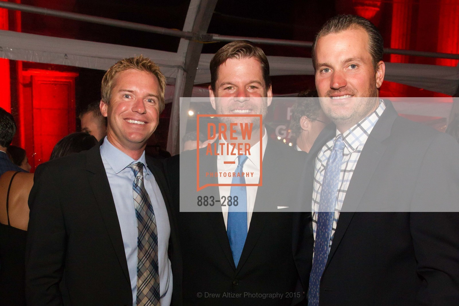 Tom Flint, Mark Farrell, Chuck Eggert, Party for the Parks 2015, Palace of Fine Arts. 3301 Lyon St, September 19th, 2015,Drew Altizer, Drew Altizer Photography, full-service agency, private events, San Francisco photographer, photographer california