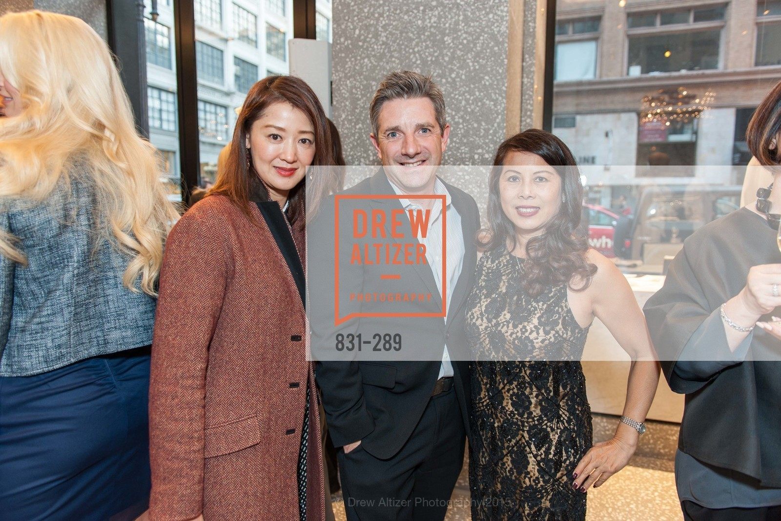 Tiffany Wang, Stuart Canning, Sharon Seto, Valentino Hosts San Francisco Symphony Gala Kickoff Party, Valentino, September 15th, 2015,Drew Altizer, Drew Altizer Photography, full-service agency, private events, San Francisco photographer, photographer california