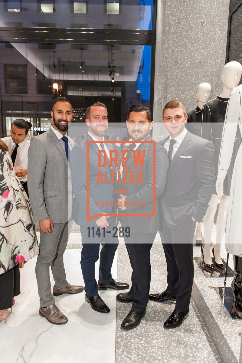 Vishal Thakur, Alan Hopkins, Juan Carlos Fernandez, Ben Williamson, Valentino Hosts San Francisco Symphony Gala Kickoff Party, Valentino, September 15th, 2015,Drew Altizer, Drew Altizer Photography, full-service agency, private events, San Francisco photographer, photographer california