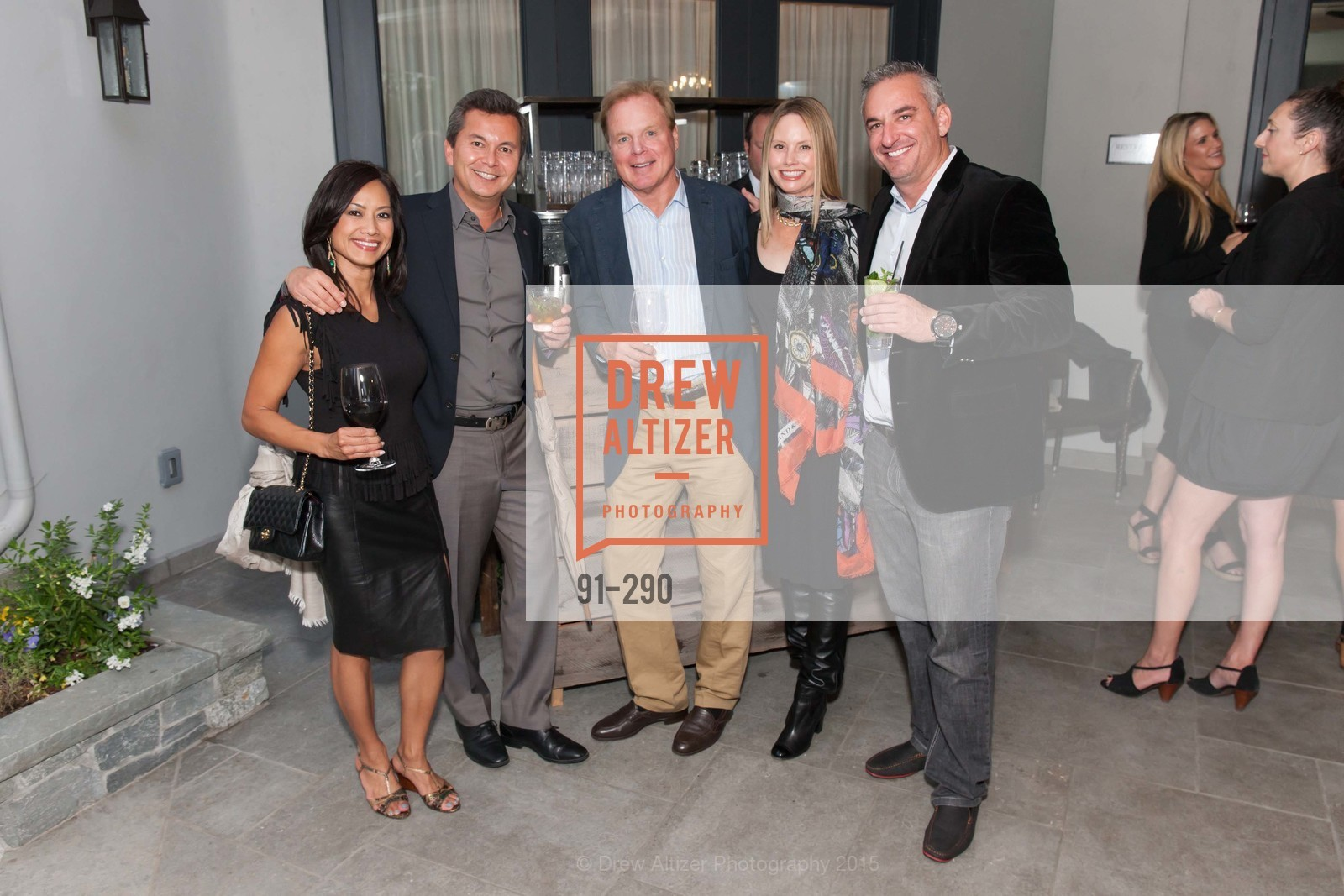 Thuy Bu, Michael Uytengsu, David Douglas, Nanette Lashay, Tim Martin, Photo #91-290