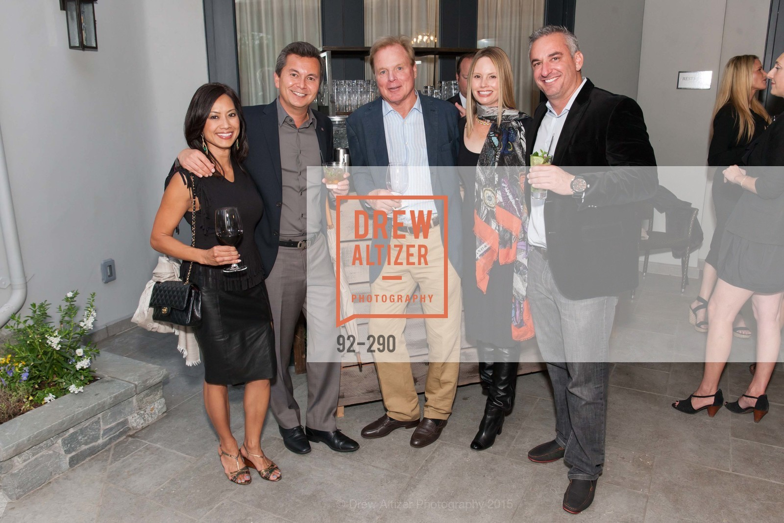 Thuy Bu, Michael Uytengsu, David Douglas, Nanette Lashay, Tim Martin, Napa Valley Film Festival: Silicon Valley First Look, Private home. 1030 Hamilton Ave, September 16th, 2015,Drew Altizer, Drew Altizer Photography, full-service agency, private events, San Francisco photographer, photographer california
