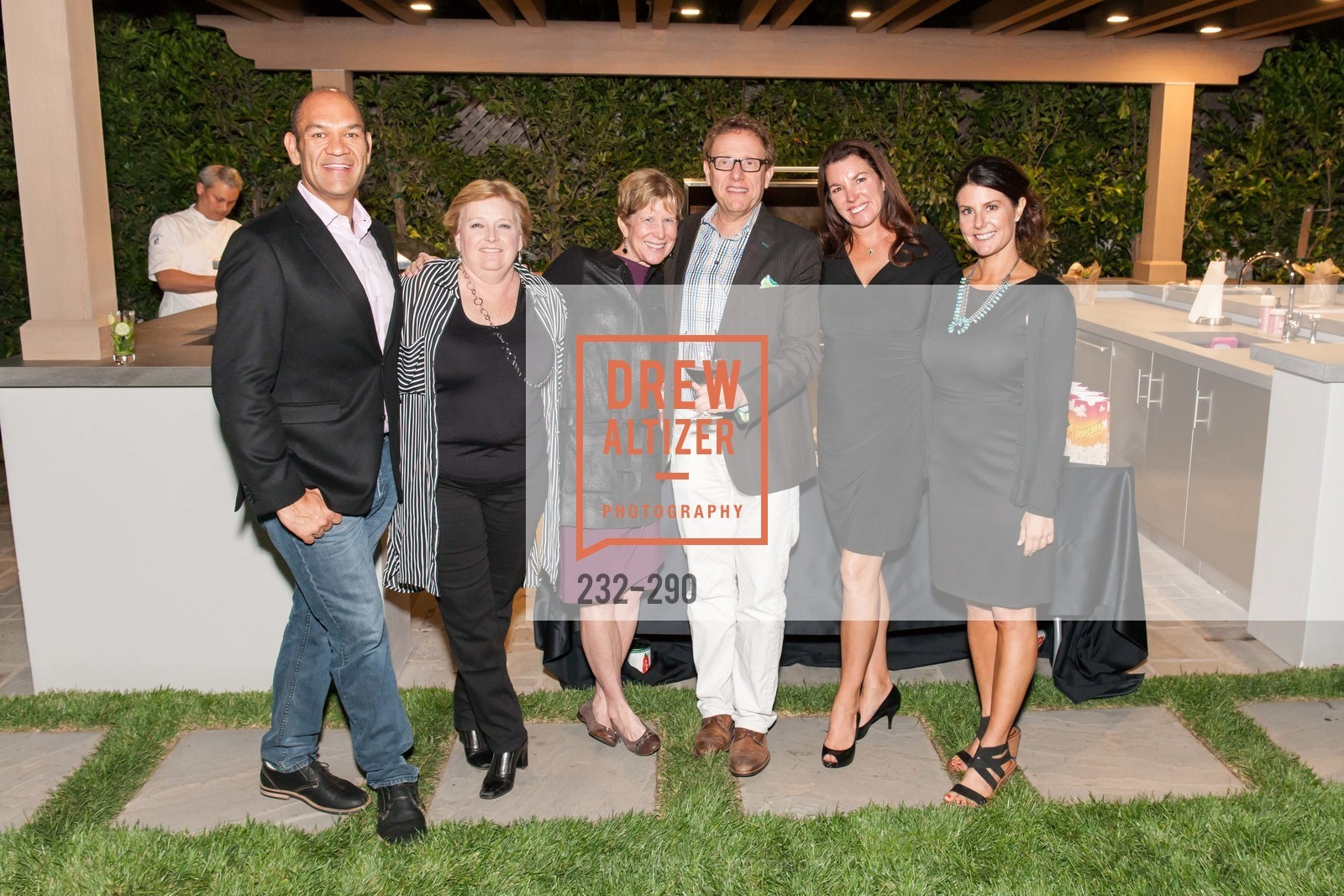 Patrick Davila, Carrie Markham, Brenda Lhormer, Marc Lhormer, Michelle Baggett, Carissa Ashman, Napa Valley Film Festival: Silicon Valley First Look, Private home. 1030 Hamilton Ave, September 16th, 2015