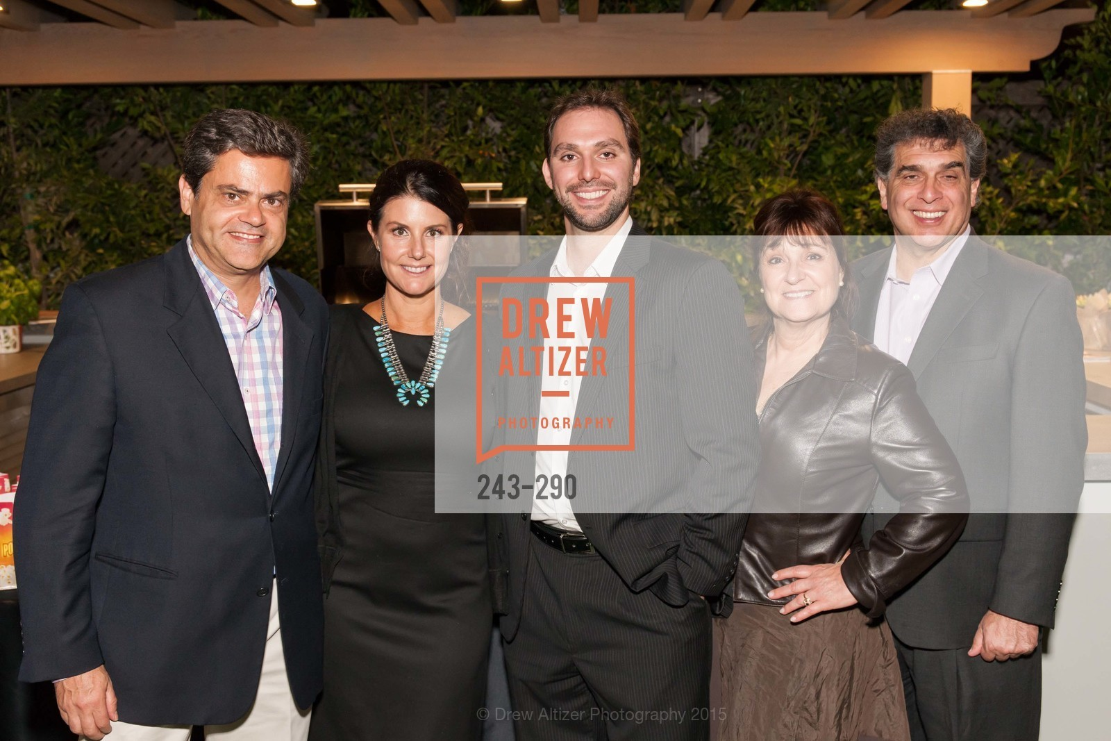 Pete Georgiadis, Carissa Ashman, Chris Papageorge, Napa Valley Film Festival: Silicon Valley First Look, Private home. 1030 Hamilton Ave, September 16th, 2015
