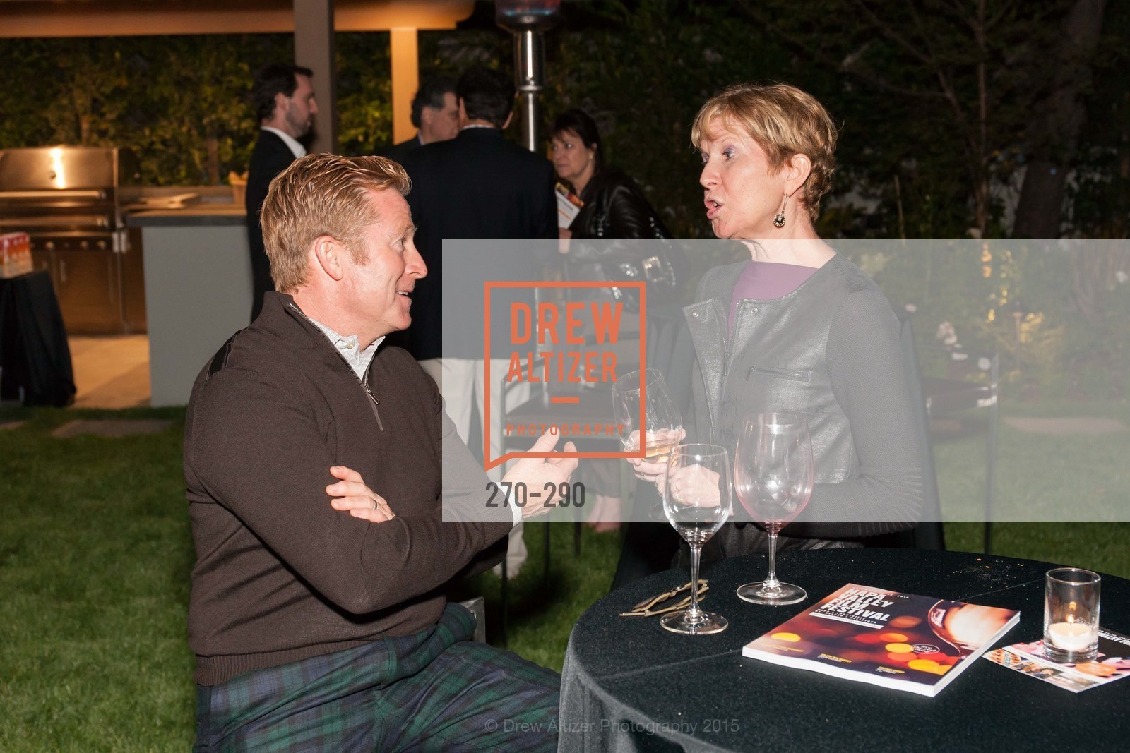 Greg St. Claire, Brenda Lhormer, Napa Valley Film Festival: Silicon Valley First Look, Private home. 1030 Hamilton Ave, September 16th, 2015,Drew Altizer, Drew Altizer Photography, full-service agency, private events, San Francisco photographer, photographer california
