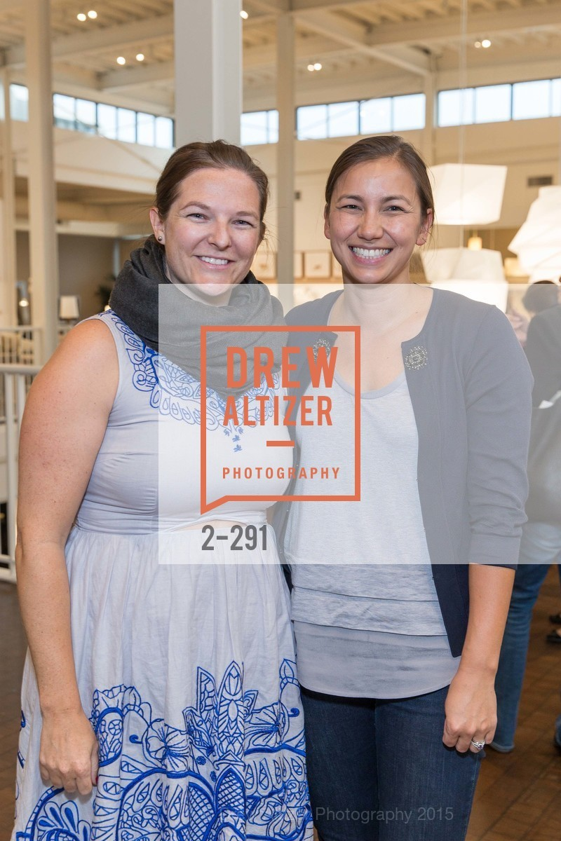 Chelsea Lund, Jessica McLean, SFC&G for the Discover New Design Series with Room & Board and Alisa Carroll, Room & Board. 685 Seventh St, September 16th, 2015