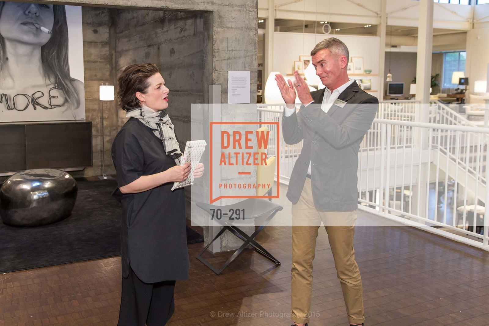 Alisa Carroll, William Smith, SFC&G for the Discover New Design Series with Room & Board and Alisa Carroll, Room & Board. 685 Seventh St, September 16th, 2015,Drew Altizer, Drew Altizer Photography, full-service agency, private events, San Francisco photographer, photographer california