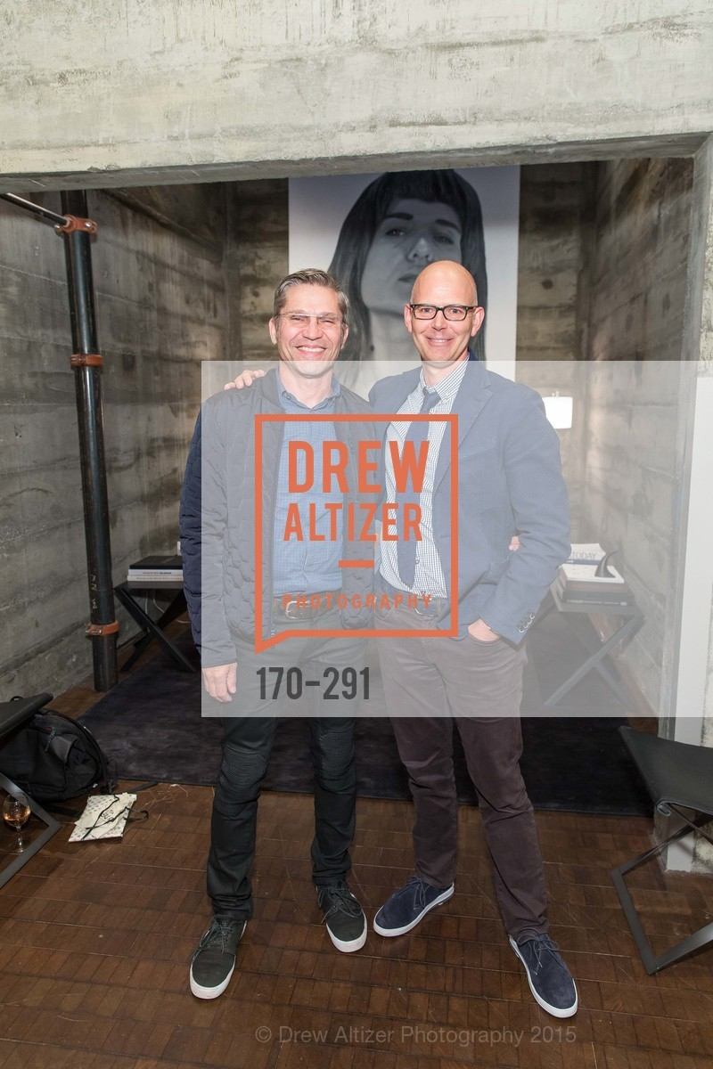 James Hunter, Eric Hughes, SFC&G for the Discover New Design Series with Room & Board and Alisa Carroll, Room & Board. 685 Seventh St, September 16th, 2015,Drew Altizer, Drew Altizer Photography, full-service agency, private events, San Francisco photographer, photographer california