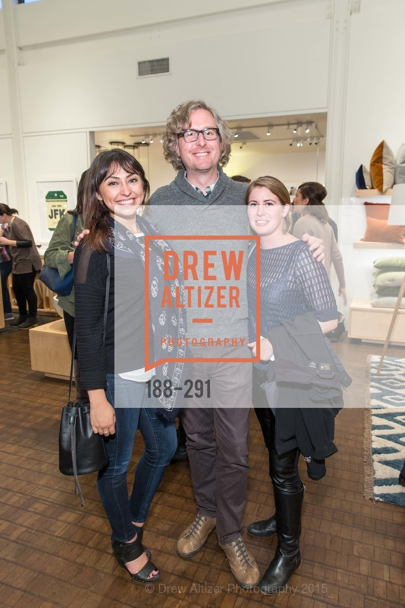 Gabriella Marmolejo, Scott Standridge, Jill Judd, SFC&G for the Discover New Design Series with Room & Board and Alisa Carroll, Room & Board. 685 Seventh St, September 16th, 2015,Drew Altizer, Drew Altizer Photography, full-service event agency, private events, San Francisco photographer, photographer California
