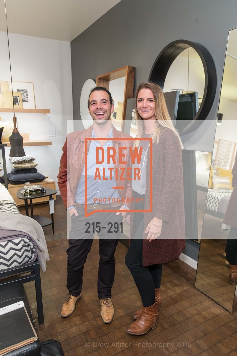 Andy Sand, Sara Young, SFC&G for the Discover New Design Series with Room & Board and Alisa Carroll, Room & Board. 685 Seventh St, September 16th, 2015,Drew Altizer, Drew Altizer Photography, full-service agency, private events, San Francisco photographer, photographer california