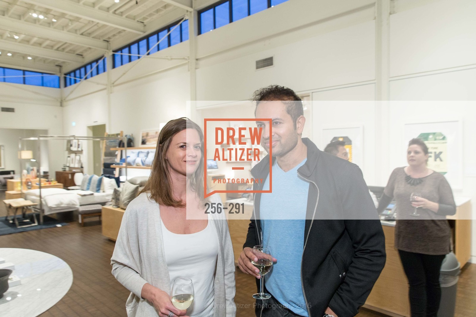 Michelle Tholen, Ben Bhargada, SFC&G for the Discover New Design Series with Room & Board and Alisa Carroll, Room & Board. 685 Seventh St, September 16th, 2015,Drew Altizer, Drew Altizer Photography, full-service agency, private events, San Francisco photographer, photographer california