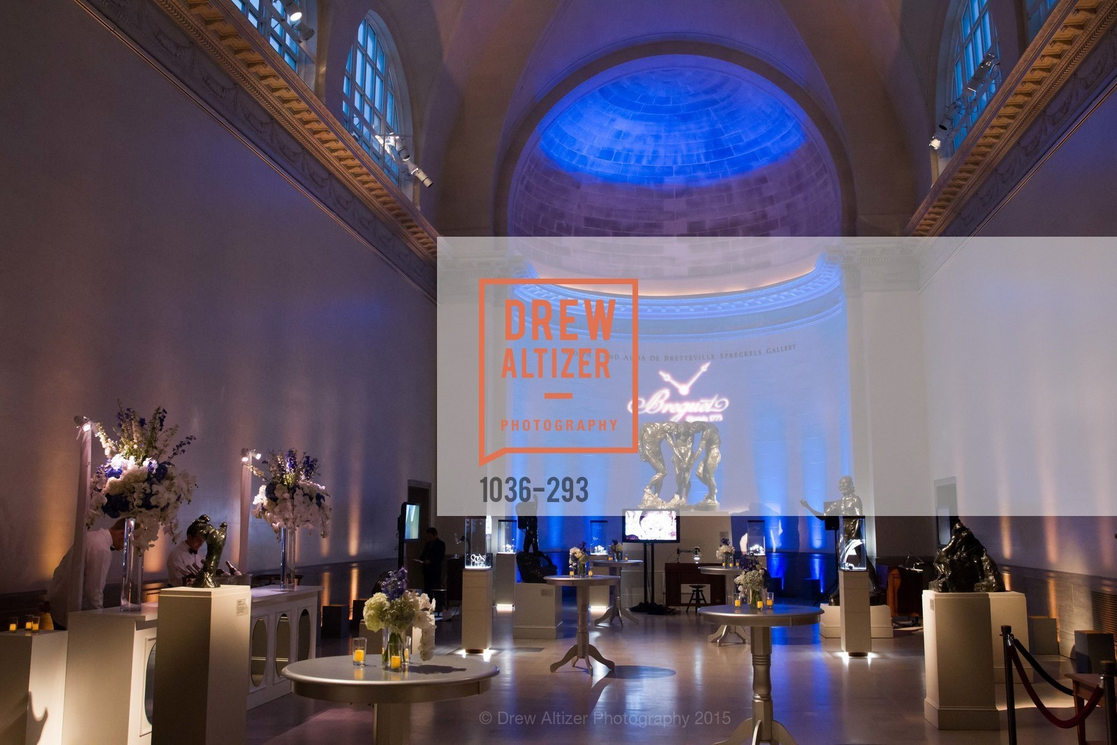 Atmosphere, The Breguet Exhibition 2015, Legion of Honor, September 16th, 2015,Drew Altizer, Drew Altizer Photography, full-service event agency, private events, San Francisco photographer, photographer California