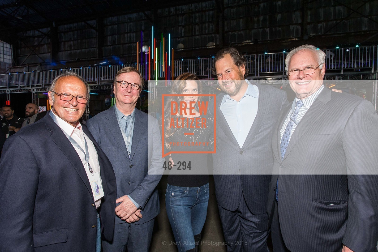 Burt Lubin, Sam Hawgood, Lynne Benioff, Marc Benioff, Mark Laret, The Concert For UCSF Benioff Children's Hospital, Pier 70, September 17th, 2015,Drew Altizer, Drew Altizer Photography, full-service agency, private events, San Francisco photographer, photographer california