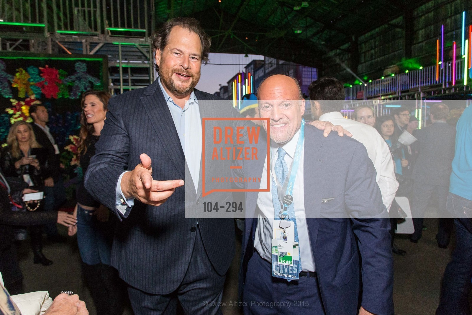 Marc Benioff, Jim Cramer, The Concert For UCSF Benioff Children's Hospital, Pier 70, September 17th, 2015,Drew Altizer, Drew Altizer Photography, full-service agency, private events, San Francisco photographer, photographer california