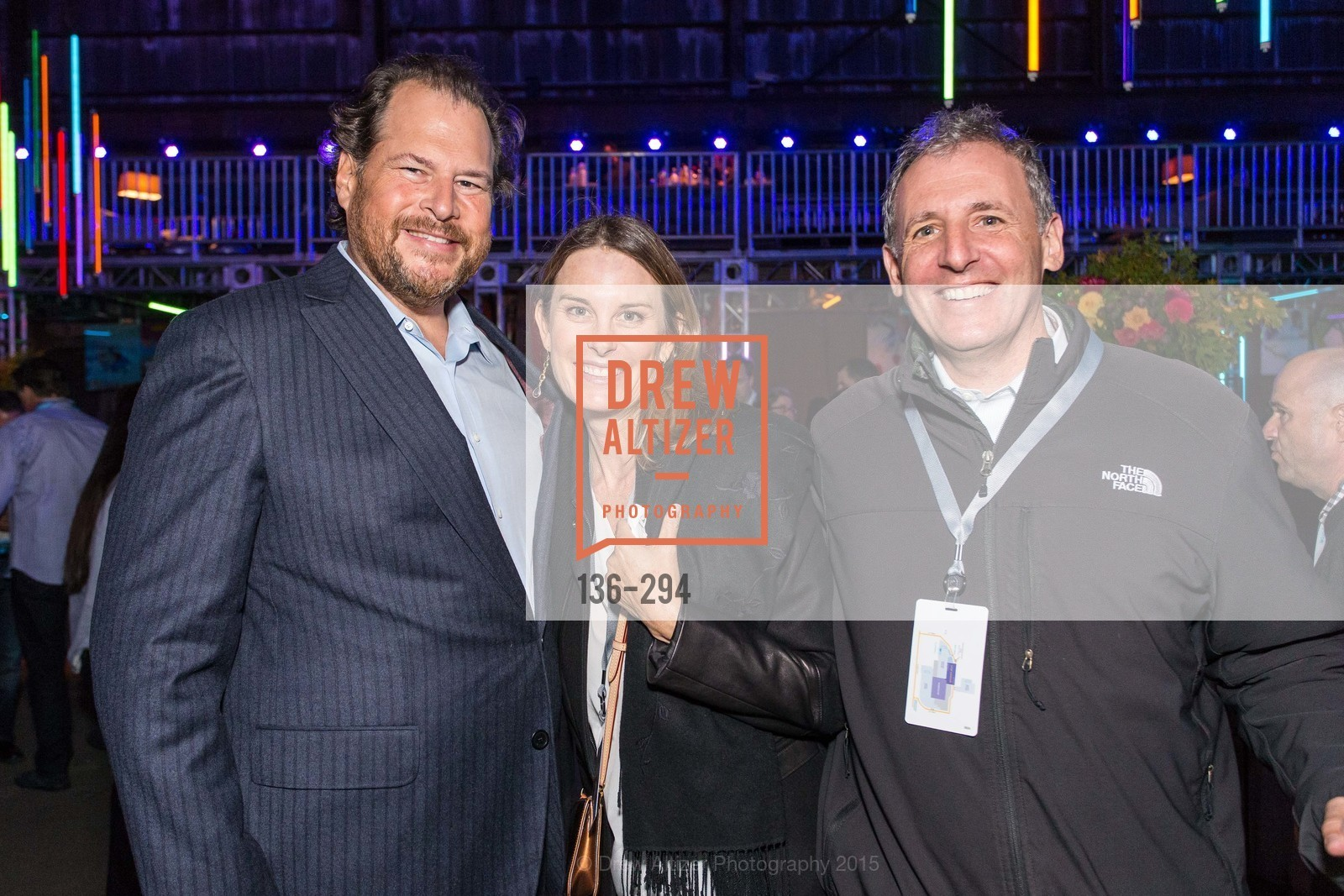 Marc Benioff, Sarah Woodberry Trauna, Danny Trauna, The Concert For UCSF Benioff Children's Hospital, Pier 70, September 17th, 2015,Drew Altizer, Drew Altizer Photography, full-service agency, private events, San Francisco photographer, photographer california