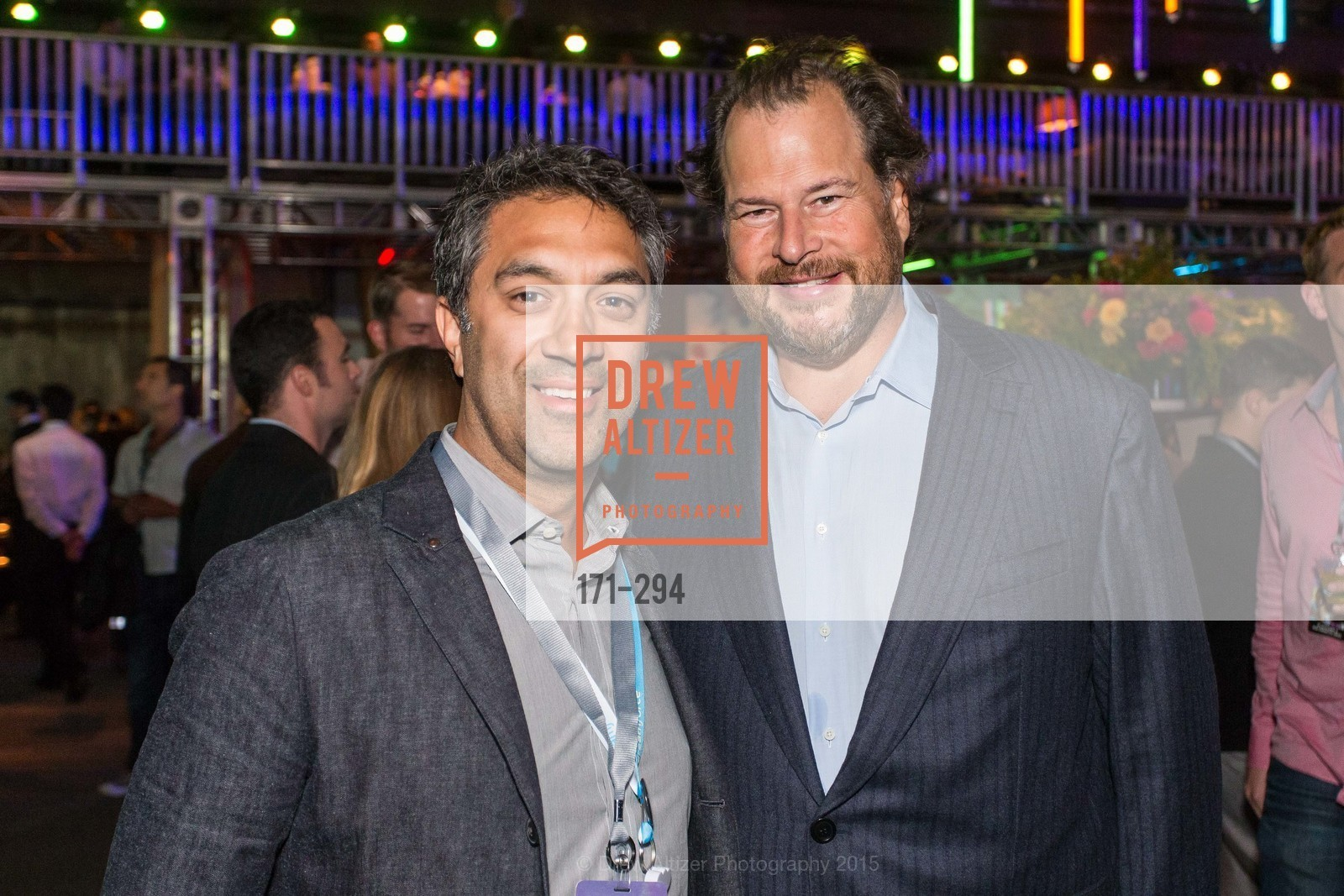 Gireesh Sonnad, Marc Benioff, The Concert For UCSF Benioff Children's Hospital, Pier 70, September 17th, 2015,Drew Altizer, Drew Altizer Photography, full-service agency, private events, San Francisco photographer, photographer california