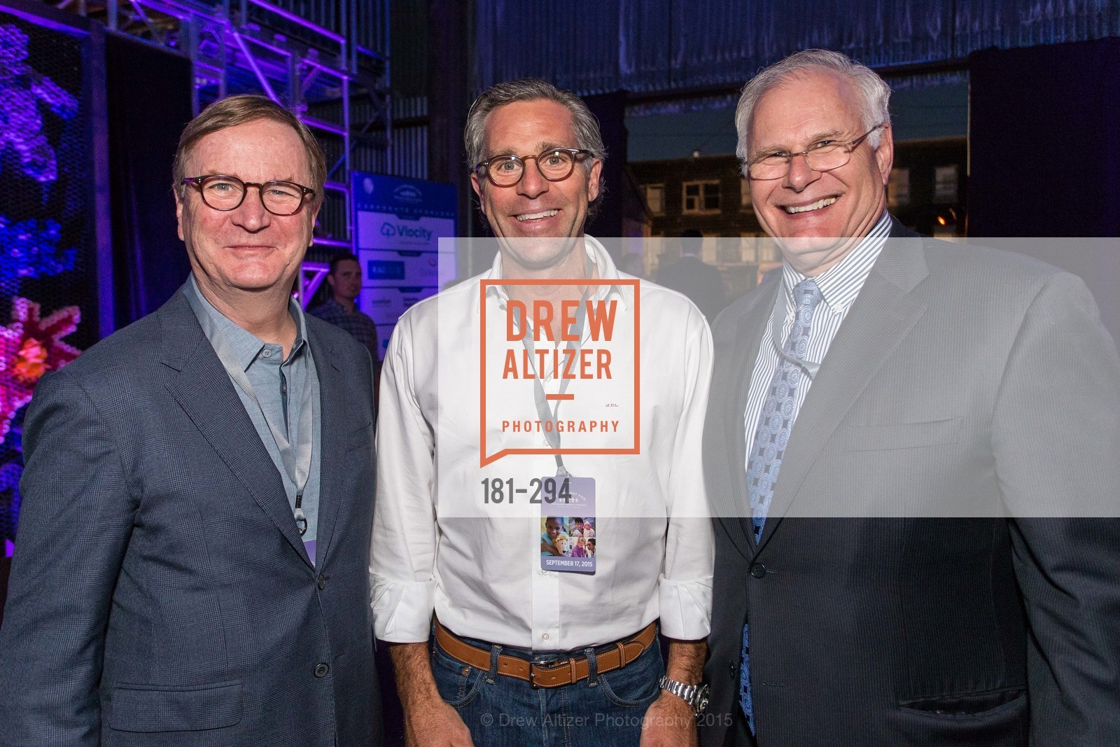 Sam Hawgood, John Lowenberg, Mark Laret, The Concert For UCSF Benioff Children's Hospital, Pier 70, September 17th, 2015,Drew Altizer, Drew Altizer Photography, full-service agency, private events, San Francisco photographer, photographer california