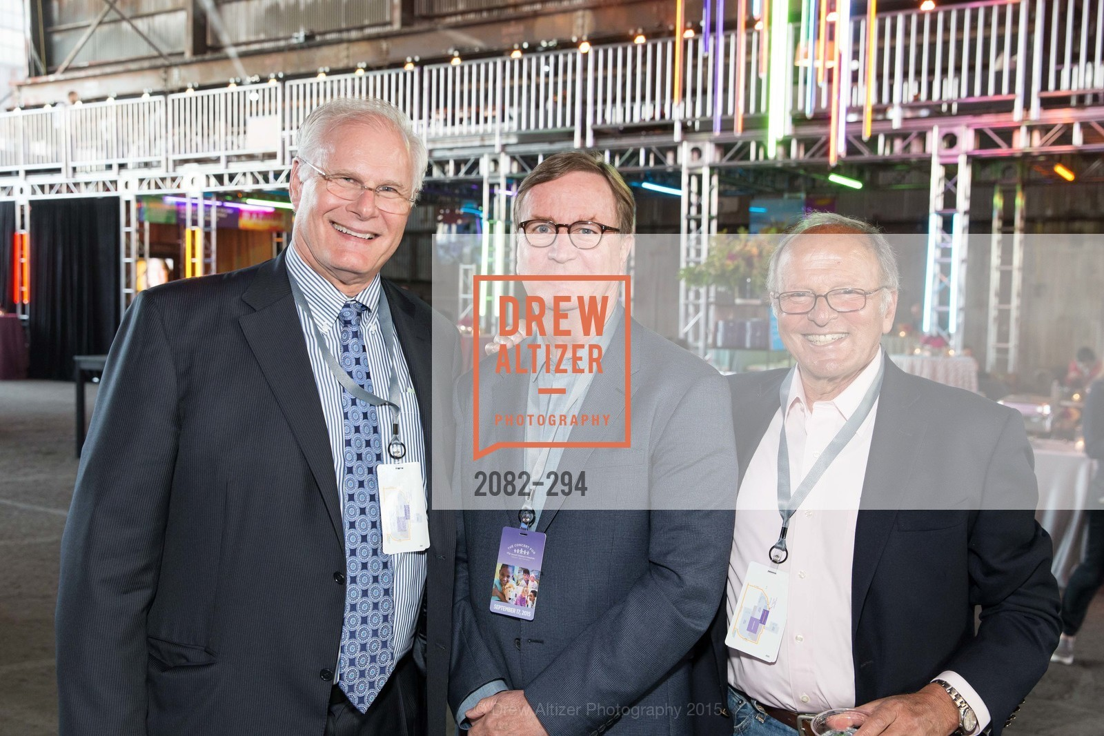 Mark Laret, Sam Hawgood, Burt Lubin, The Concert For UCSF Benioff Children's Hospital, Pier 70, September 17th, 2015,Drew Altizer, Drew Altizer Photography, full-service agency, private events, San Francisco photographer, photographer california