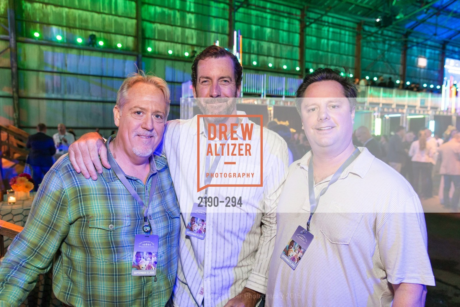 Sean Carroll, Brian Ivy, Larry Puccinelli, Lori Puccinelli Stern, The Concert For UCSF Benioff Children's Hospital, Pier 70, September 17th, 2015,Drew Altizer, Drew Altizer Photography, full-service agency, private events, San Francisco photographer, photographer california
