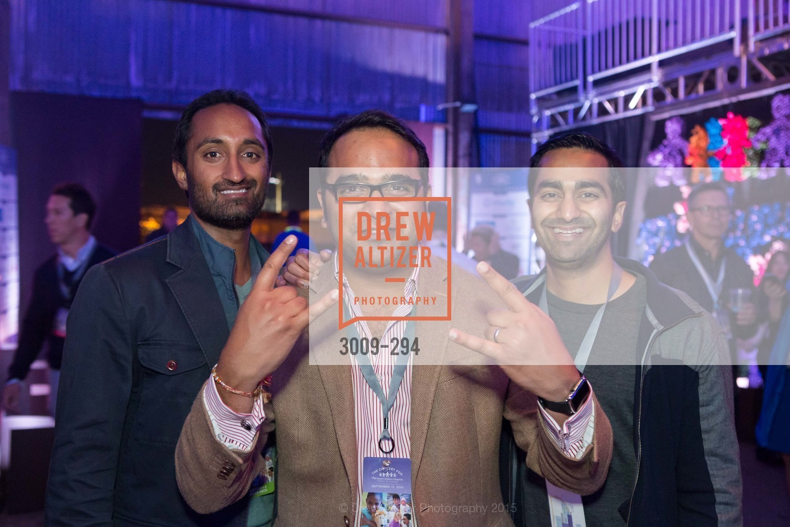 Mira Rajani, Gurinder Verdi, Kunal Concractor, Bobby Mehta, The Concert For UCSF Benioff Children's Hospital, Pier 70, September 17th, 2015,Drew Altizer, Drew Altizer Photography, full-service agency, private events, San Francisco photographer, photographer california