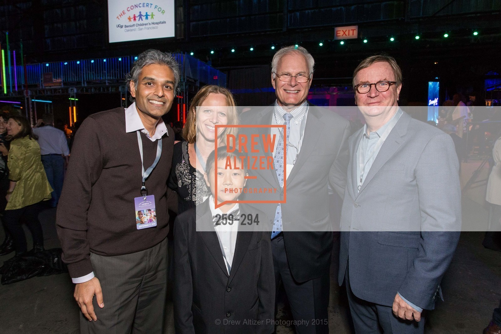 Anu Agrawal, Jennifer Michlitsch, Zhenkang Zhao, Mark Laret, Sam Hawgood, The Concert For UCSF Benioff Children's Hospital, Pier 70, September 17th, 2015,Drew Altizer, Drew Altizer Photography, full-service event agency, private events, San Francisco photographer, photographer California