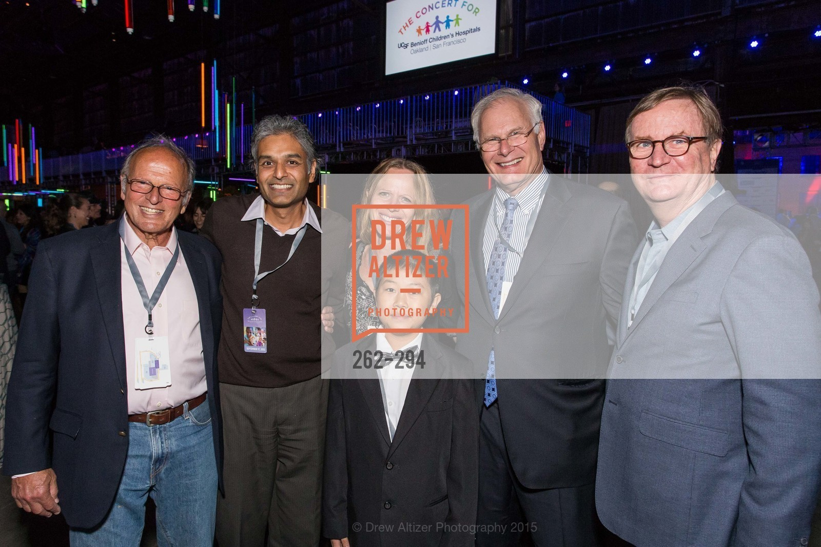 Burt Lubin, Anu Agrawal, Jennifer Michlitsch, Zhenkang Zhao, Mark Laret, Sam Hawgood, The Concert For UCSF Benioff Children's Hospital, Pier 70, September 17th, 2015,Drew Altizer, Drew Altizer Photography, full-service agency, private events, San Francisco photographer, photographer california
