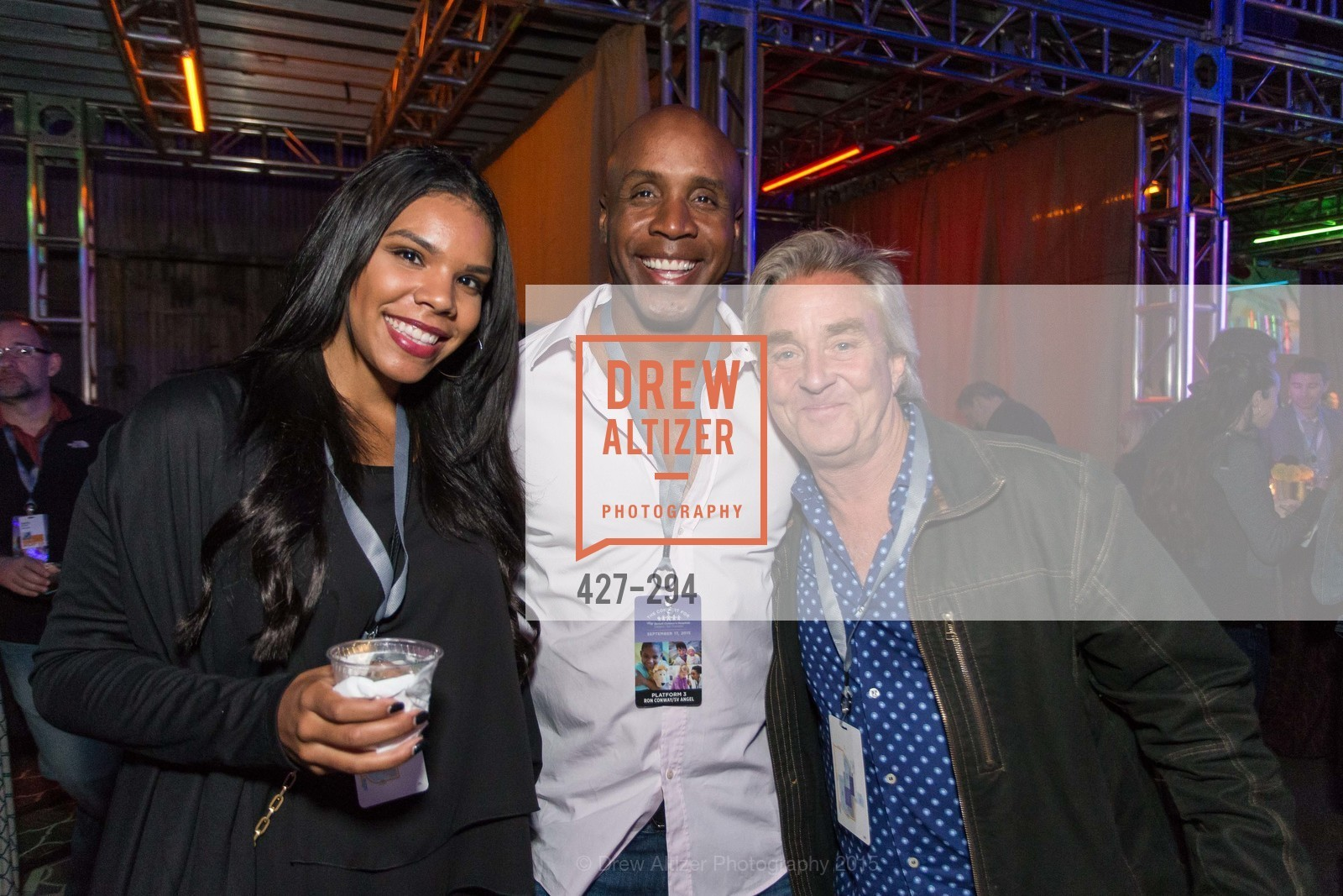Shikari Bond, Barry Bonds, Jim Steyer, The Concert For UCSF Benioff Children's Hospital, Pier 70, September 17th, 2015,Drew Altizer, Drew Altizer Photography, full-service agency, private events, San Francisco photographer, photographer california