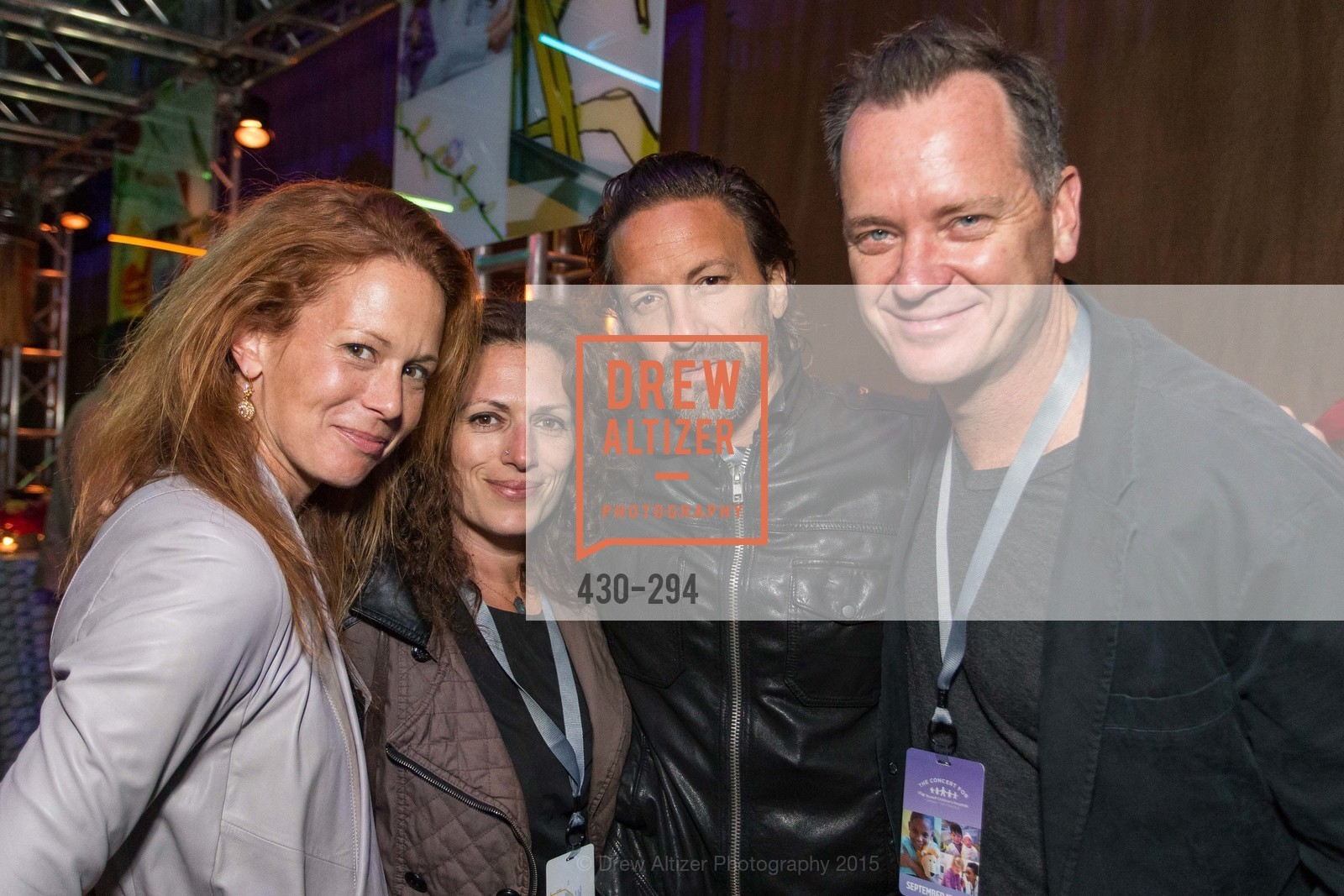 Jennifer Wayland, Lee Forney, Jeff Forney, Mark Wayland, The Concert For UCSF Benioff Children's Hospital, Pier 70, September 17th, 2015,Drew Altizer, Drew Altizer Photography, full-service agency, private events, San Francisco photographer, photographer california