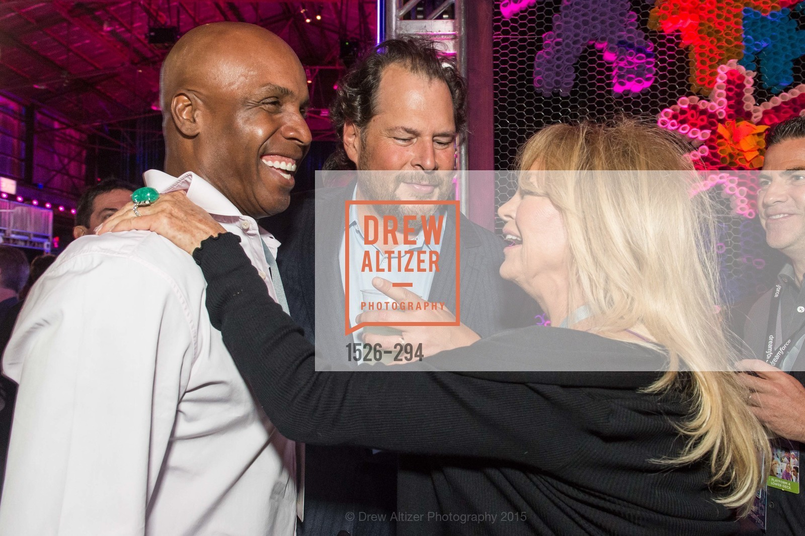Barry Bond, Marc Benioff, Goldie Hawn, The Concert For UCSF Benioff Children's Hospital, Pier 70, September 17th, 2015,Drew Altizer, Drew Altizer Photography, full-service agency, private events, San Francisco photographer, photographer california