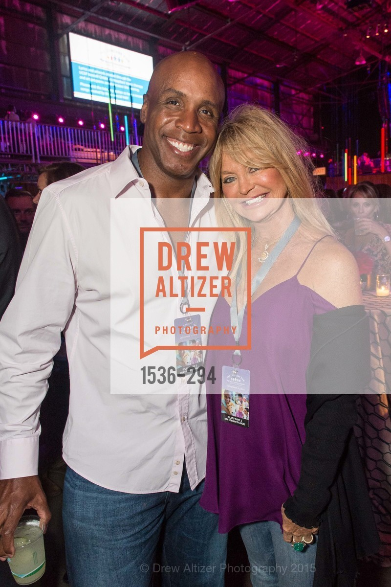 Barry Bond, Goldie Hawn, The Concert For UCSF Benioff Children's Hospital, Pier 70, September 17th, 2015,Drew Altizer, Drew Altizer Photography, full-service agency, private events, San Francisco photographer, photographer california
