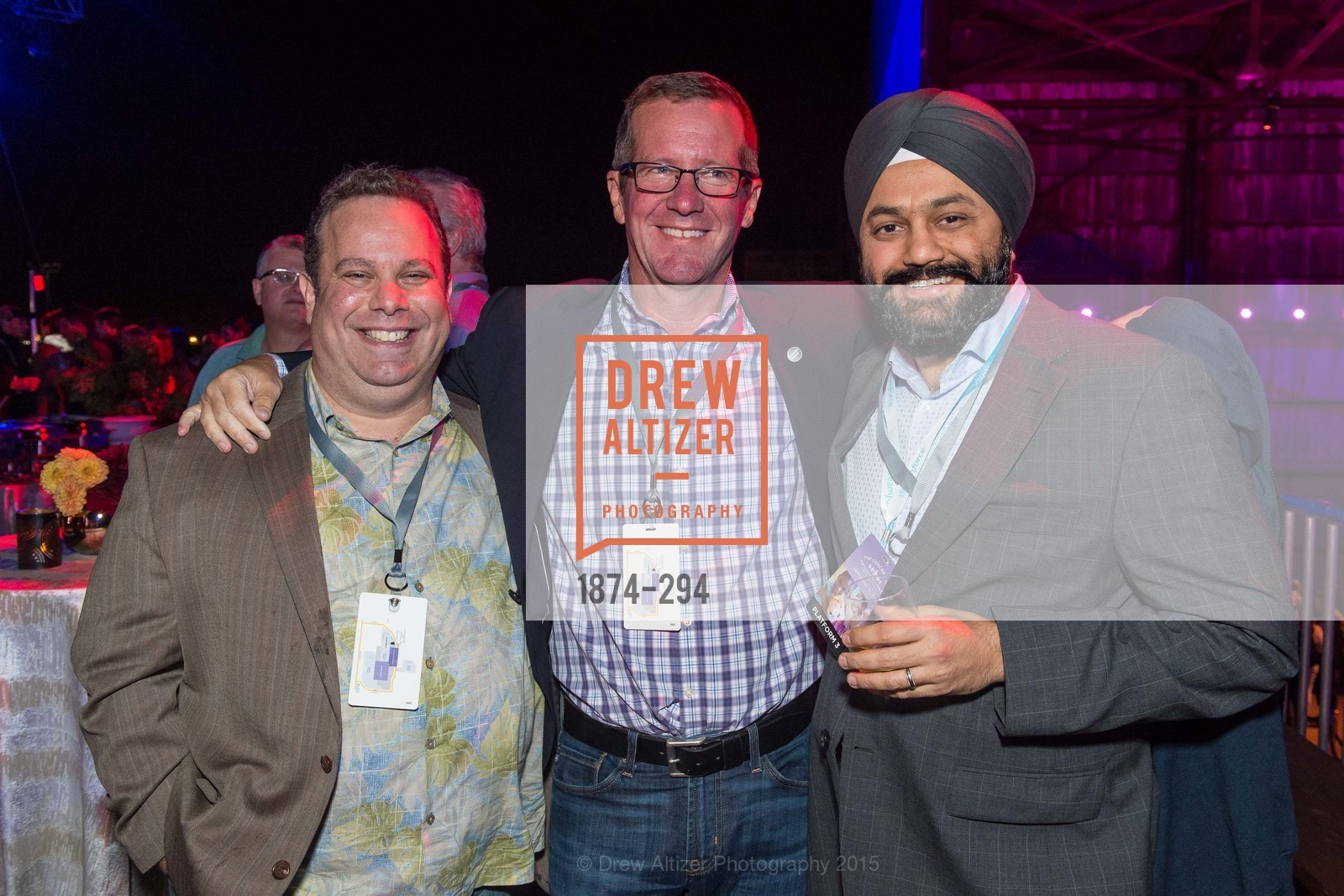 Mark Reuter, Tim Peterson, Charan Singh, The Concert For UCSF Benioff Children's Hospital, Pier 70, September 17th, 2015,Drew Altizer, Drew Altizer Photography, full-service agency, private events, San Francisco photographer, photographer california