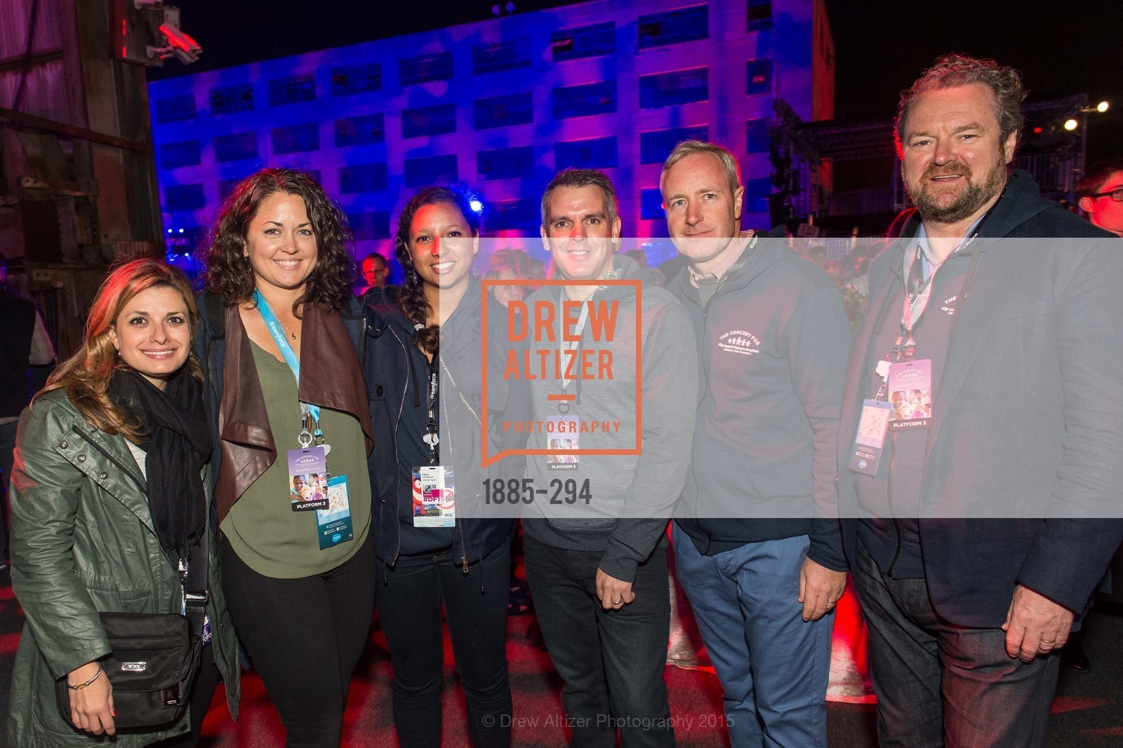 Bounia Lievan, Tracy Kambias, Nisa Badard, Greg Holden, Kevin Walsh, The Concert For UCSF Benioff Children's Hospital, Pier 70, September 17th, 2015,Drew Altizer, Drew Altizer Photography, full-service event agency, private events, San Francisco photographer, photographer California