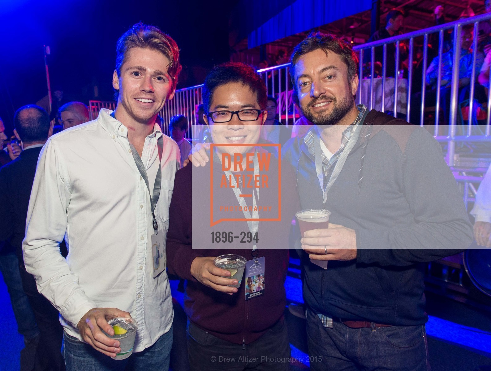 Abram Dawson, Mike Lyu, Andreas Lieber, The Concert For UCSF Benioff Children's Hospital, Pier 70, September 17th, 2015