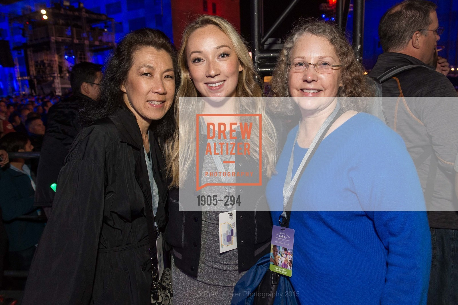 Corrine Bagaman, Megan Bagaman, Laura Bagaman, The Concert For UCSF Benioff Children's Hospital, Pier 70, September 17th, 2015,Drew Altizer, Drew Altizer Photography, full-service agency, private events, San Francisco photographer, photographer california