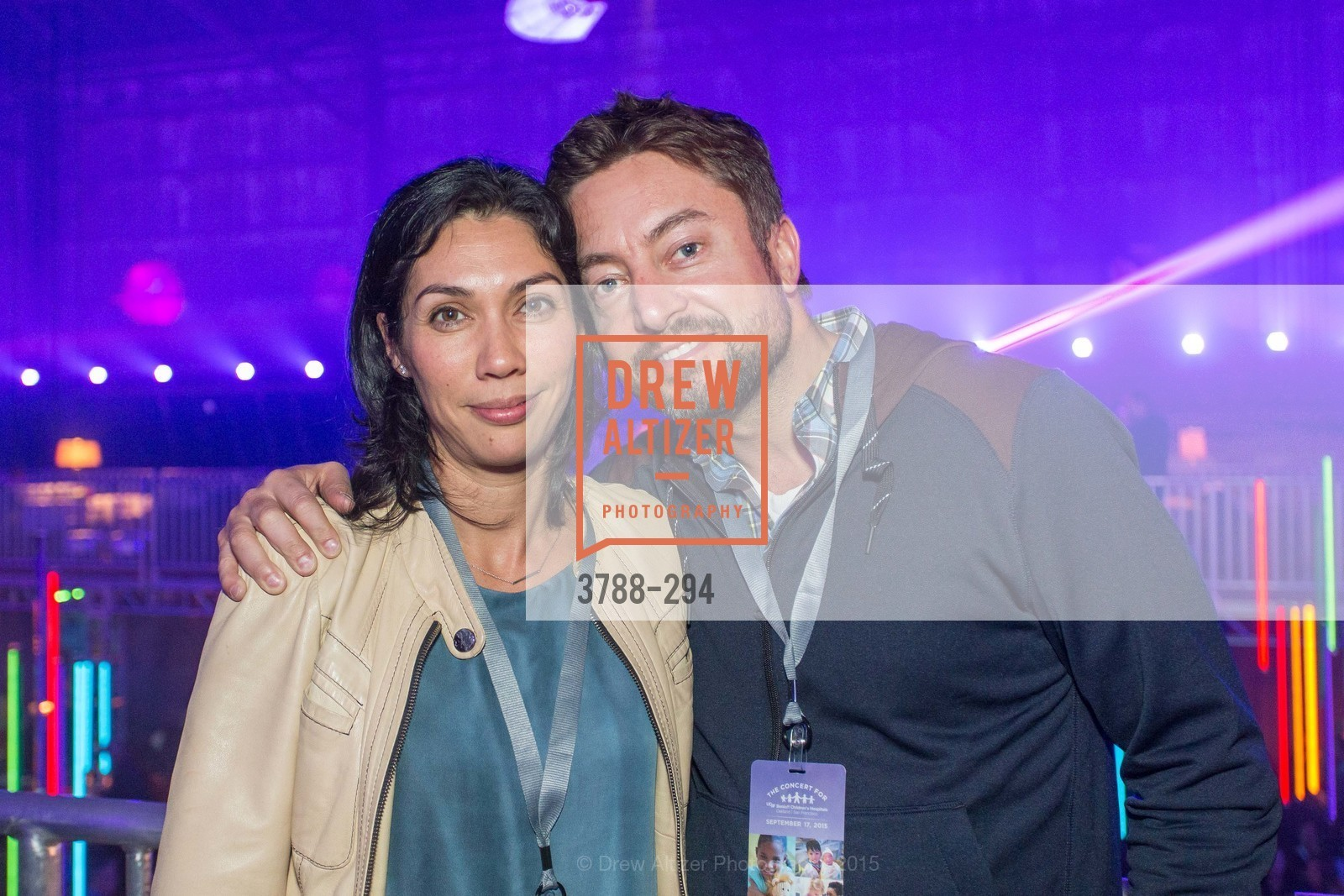 Natalie Lieber, Andreas Lieber, The Concert For UCSF Benioff Children's Hospital, Pier 70, September 17th, 2015