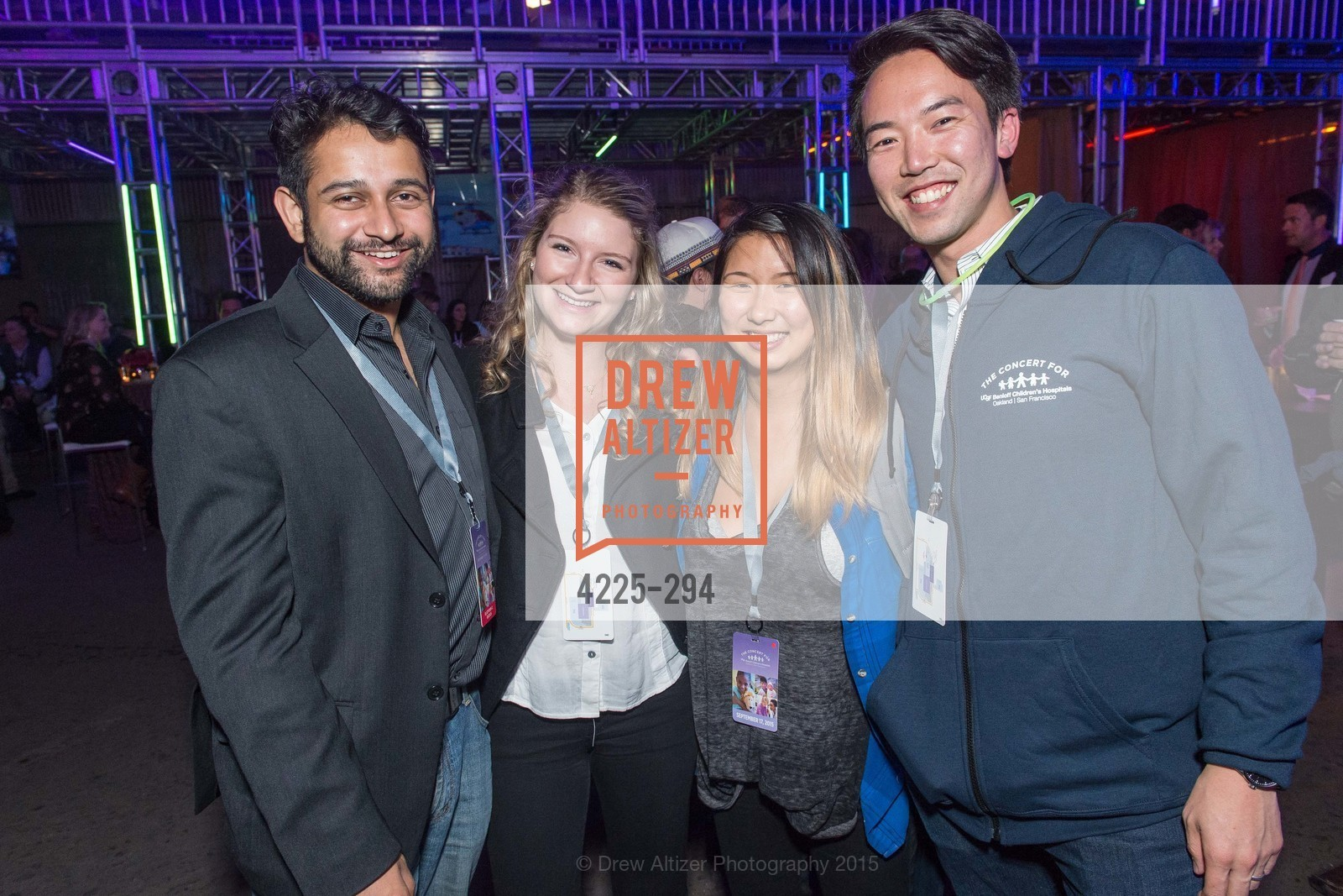 Arut Danerjee, Sarah Sing, Mark Chan, The Concert For UCSF Benioff Children's Hospital, Pier 70, September 17th, 2015,Drew Altizer, Drew Altizer Photography, full-service agency, private events, San Francisco photographer, photographer california