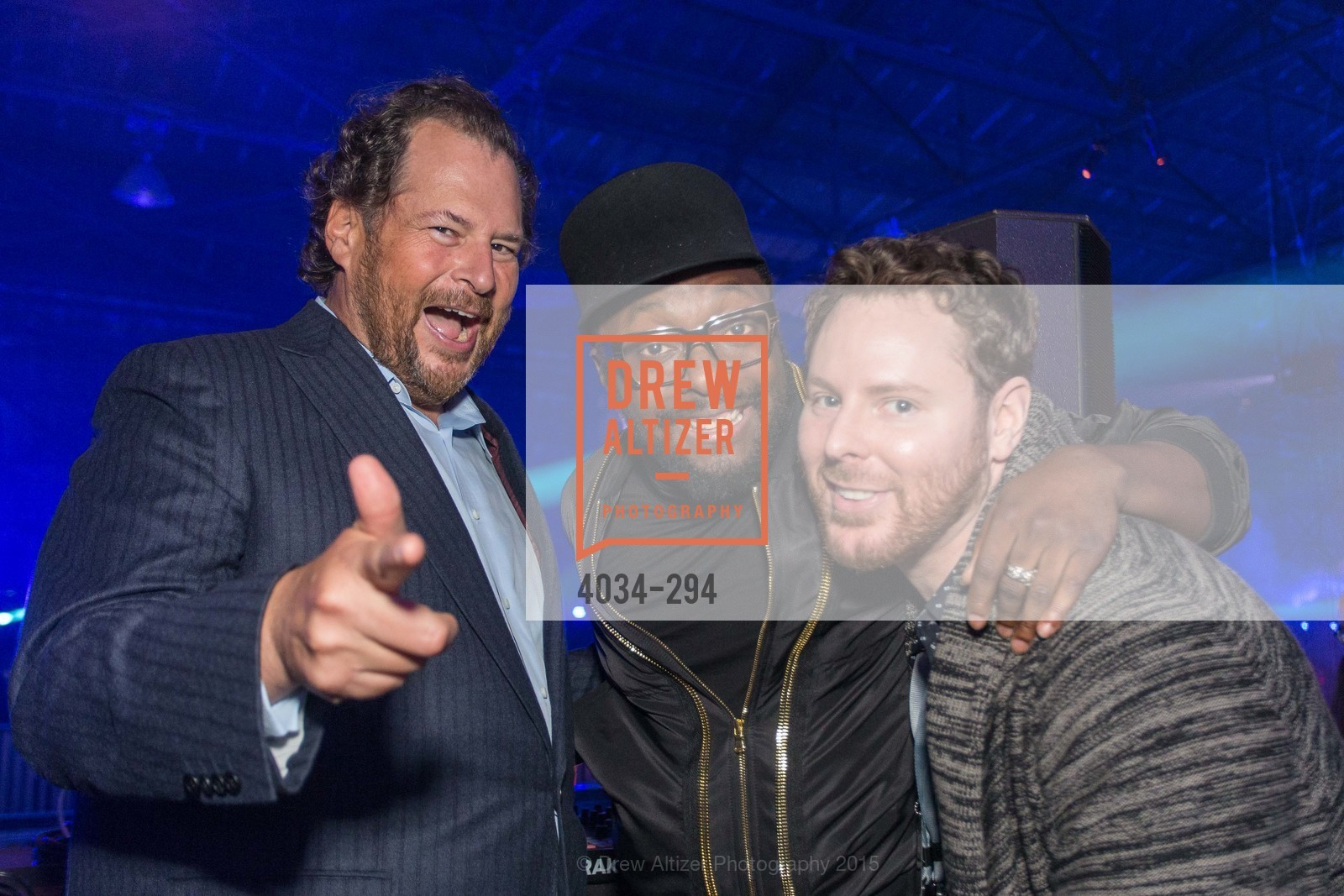 Marc Benioff, Will.I.Am, Sean Parker, The Concert For UCSF Benioff Children's Hospital, Pier 70, September 17th, 2015,Drew Altizer, Drew Altizer Photography, full-service agency, private events, San Francisco photographer, photographer california