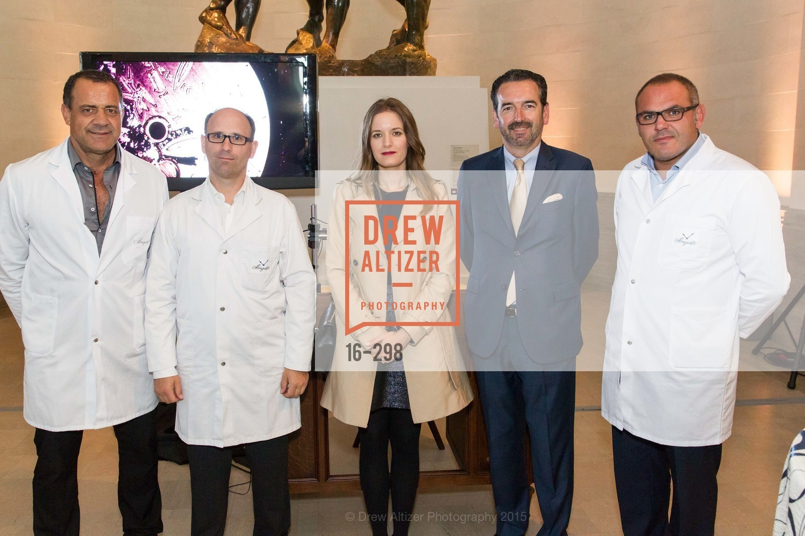 De Mattheis Cosimo, Stephane Aubert, Leila Mansour, Emmanuel Breguet, Fabio Ottaviano, Breguet and Ancient Luxury Donor Opening Reception at Legion of Honor, Legion of Honor, September 17th, 2015,Drew Altizer, Drew Altizer Photography, full-service agency, private events, San Francisco photographer, photographer california