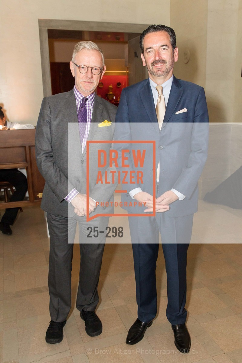 Martin Chapman, Emmanuel Breguet, Breguet and Ancient Luxury Donor Opening Reception at Legion of Honor, Legion of Honor, September 17th, 2015,Drew Altizer, Drew Altizer Photography, full-service agency, private events, San Francisco photographer, photographer california