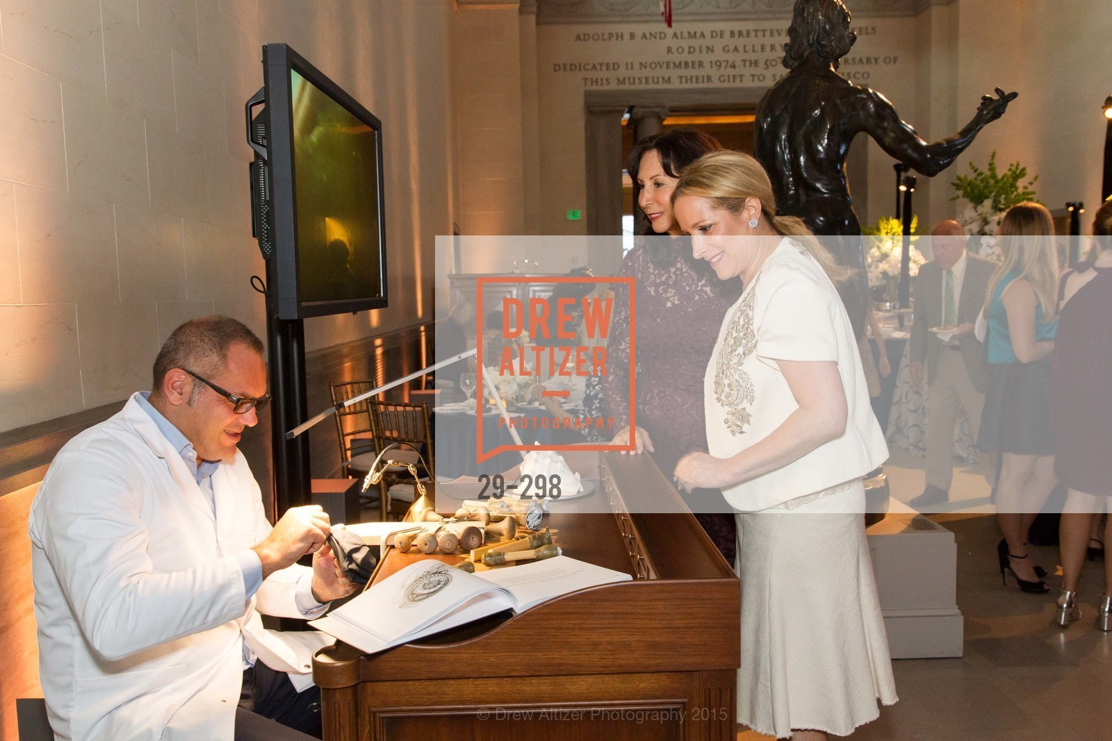 Carolyn Chandler, Lorre Erlick, Breguet and Ancient Luxury Donor Opening Reception at Legion of Honor, Legion of Honor, September 17th, 2015,Drew Altizer, Drew Altizer Photography, full-service agency, private events, San Francisco photographer, photographer california