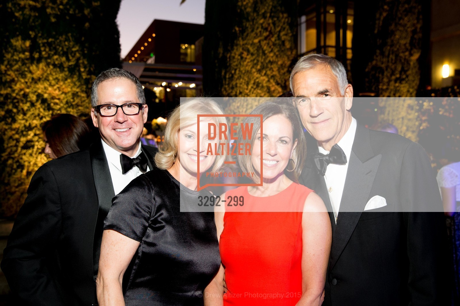 John Crouch, Debbie Crouch, Charlene Cogan, Albert Guibara, Stanford University's Cantor Arts Center Presents Rodin by Moonlight, Stanford University, September 19th, 2015,Drew Altizer, Drew Altizer Photography, full-service agency, private events, San Francisco photographer, photographer california