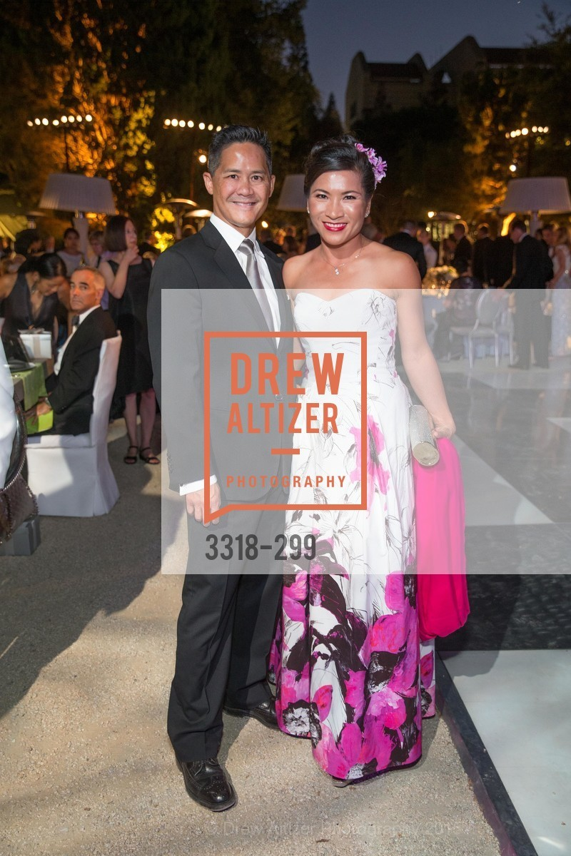 Kevin Lee, Michelle Wong, Stanford University's Cantor Arts Center Presents Rodin by Moonlight, Stanford University, September 19th, 2015,Drew Altizer, Drew Altizer Photography, full-service agency, private events, San Francisco photographer, photographer california